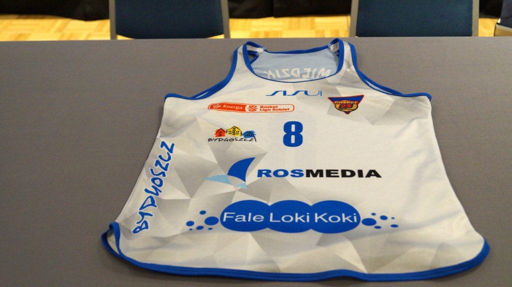 podpisanie umowy KS Basket 25 - Fale Loki Koki