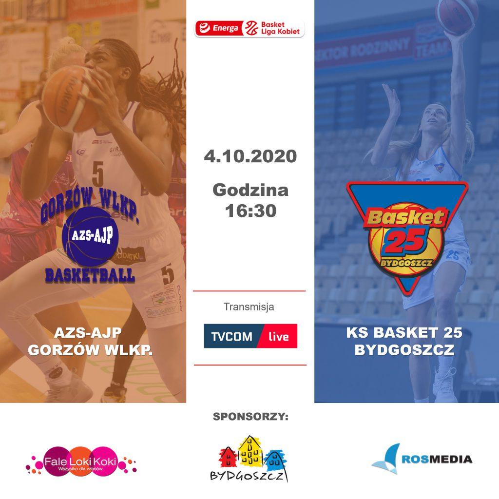 AZS-AJP Gorzów - KS Basket 25