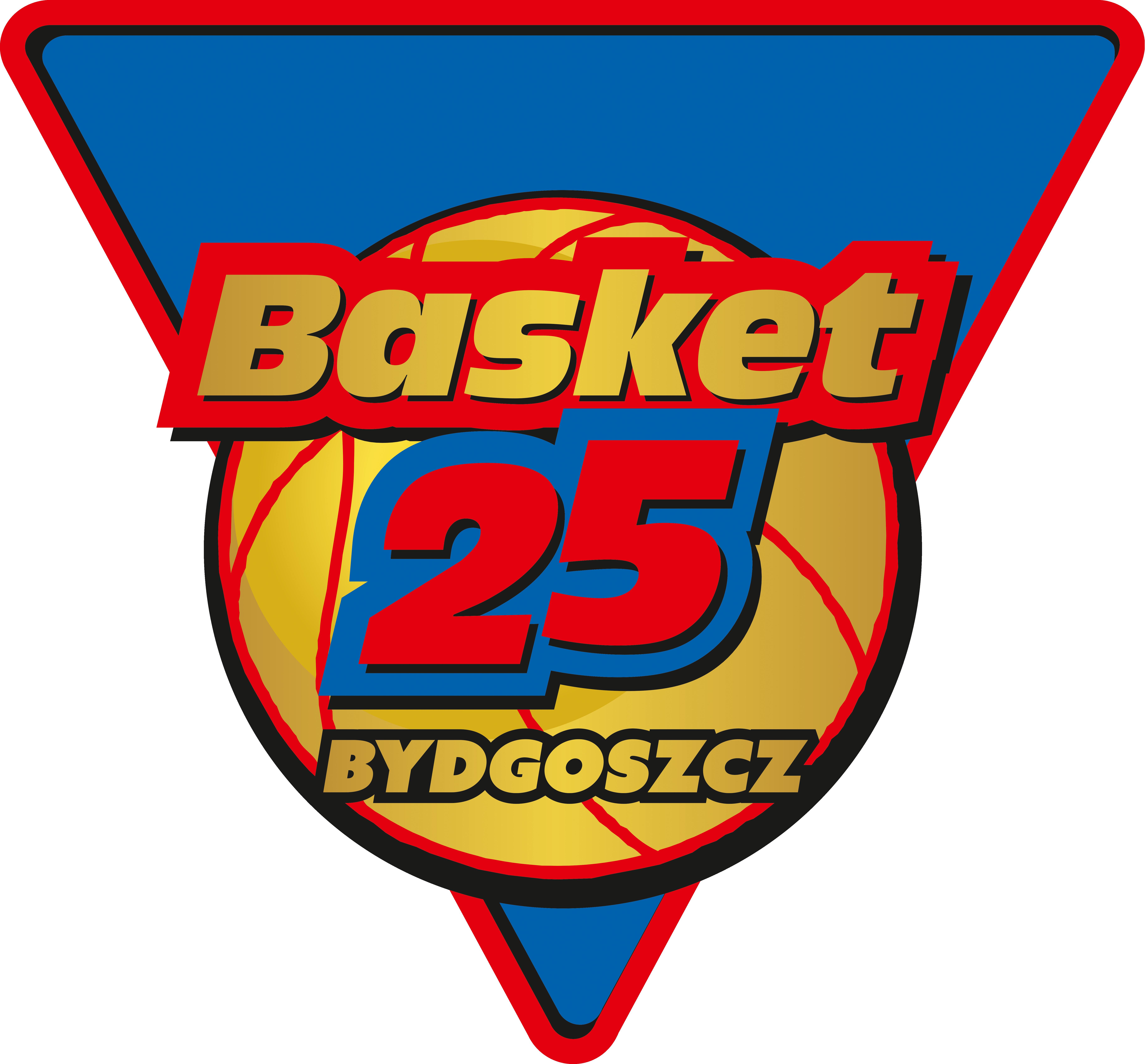 logo klub sportowy basket 25 bydgoszcz
